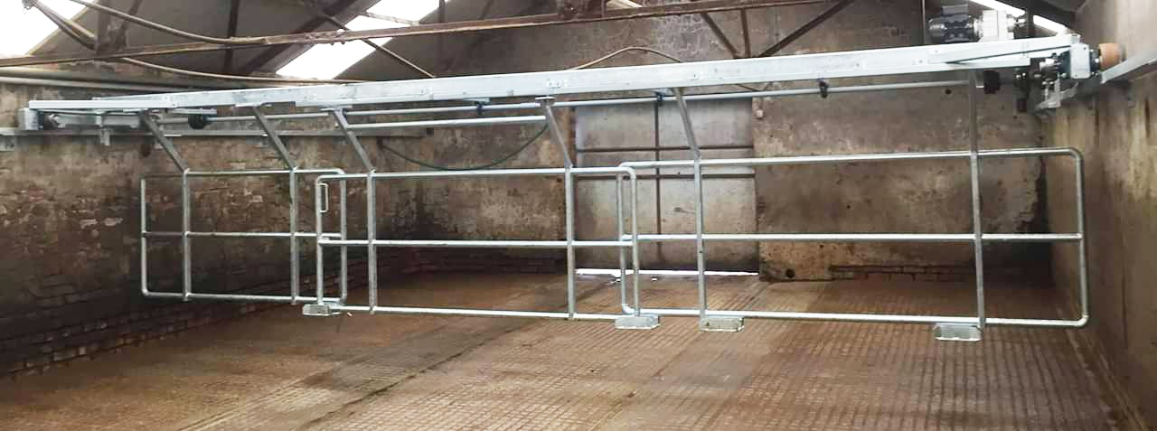 Dairy Parlour Backing Gate